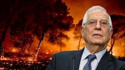 Borrell: Yunanistan ve Türkiye'deki yangınlar, iklim değişikliğinin keskin hatırlatıcıları