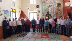 Kurcalı köyü Cuma namazında önemli misafirleri ağırladı
