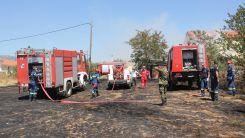 Rodop bölgesinde bugün de yangın çıktı