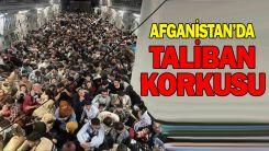 Afganlar, ABD uçağıyla tahliye edildi