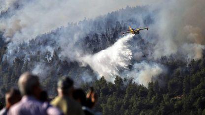 Yunanistan'da yangınları söndürme çalışmaları devam ediyor