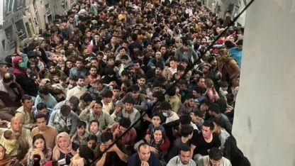 ABD, kargo uçağına doldurduğu Afganları bakın nereye bıraktı