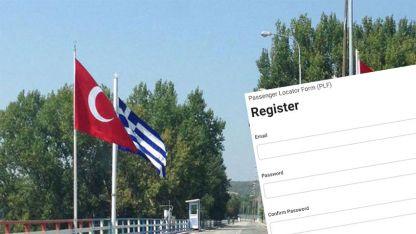 Yunanistan vatandaşları için PLF formundaki sorun kalktı