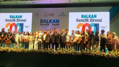 """İskeçe Türk Birliği, """"Balkan Gençlik Zirvesi'ne katıldı"""