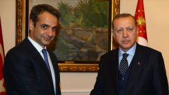 Erdoğan-Miçotakis görüşmesi gerçekleşti