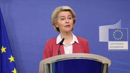 AB Komisyonu Başkanı Ursula Von der Leyen: Taliban'ı tanımıyoruz