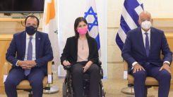 Dendias, İsrail'deki zirvede Türkiye'yi hedef aldı