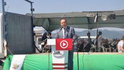 Kozlukebir Belediye Başkanı Rıdvan Ahmet, Alantepe'den seslendi