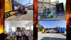 Gümülcine'den yardımlar yangınzedelere ulaştırıldı