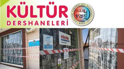 Kültür Dershaneleri Mastanlı Şubesinin camlarını kırdılar