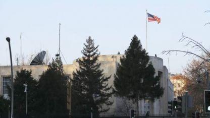 ABD'yi protesto eden Afgan göçmen kendini yakmak istedi