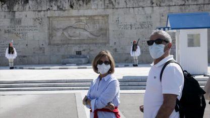 Yunanistan'da koronavirüs salgınında son 24 saatte 3064 vaka