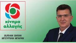 KİNAL Milletvekili Baran'dan soru önergesi