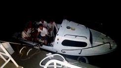 Yunanistan'a fiber tekne ile kaçmaya çalışan 1'i FETÖ sanığı 4 kişi yakalandı