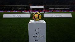 Süper Lig'de 13 haftalık program açıklandı