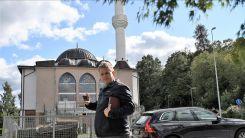 İslam karşıtı siyasetçi Paludan'dan Türk camisi önünde provokasyon