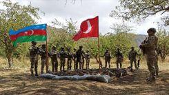 Türkiye ve Azerbaycan, işgalden kurtarılan Laçın'da askeri tatbikata başladı