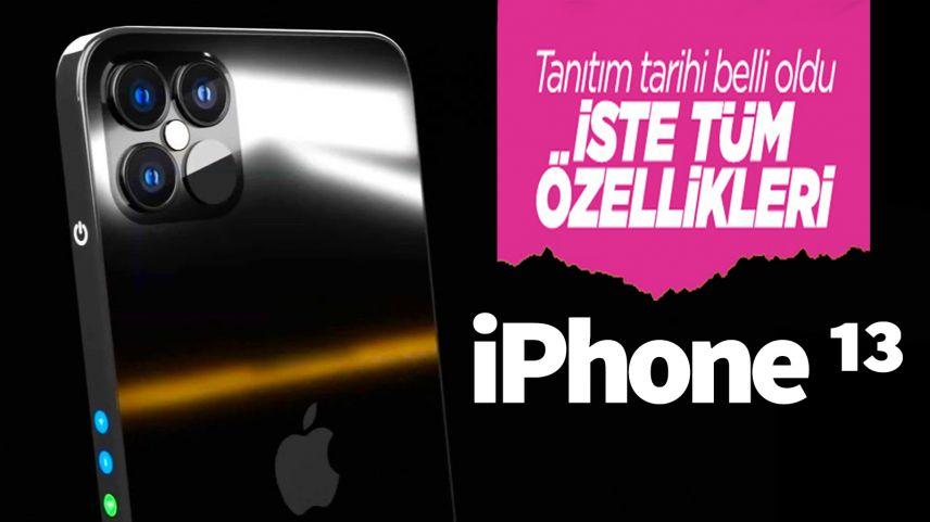 iPhone 13 modellerinin tanıtım tarihi kesinleşti