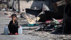 """Moria kampı çevresinde durum hala """"felaket"""""""