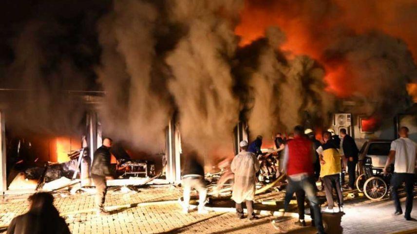 Kuzey Makedonya'da Kovid-19 hasta tedavi merkezinde yangın: 10 ölü