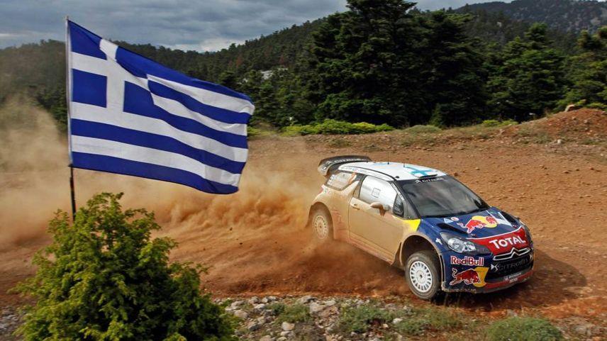 Dünya Ralli Şampiyonası'nda (WRC) heyecan Yunanistan'da yaşanıyor