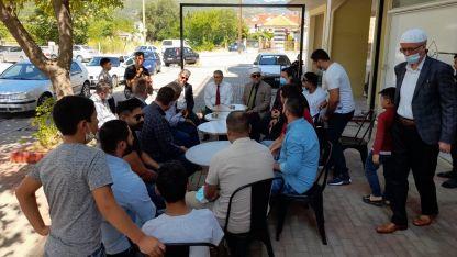 Başkonsolos Ömeroğlu Gazhane'de soydaşlarla buluştu