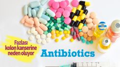 Antibiyotikler kolon kanseri riskini artırıyor