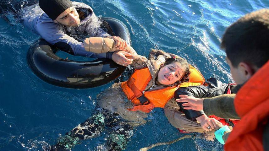 Yunanistan'ın 8 ayda geri ittiği yaklaşık 6 bin göçmeni Türkiye kurtardı
