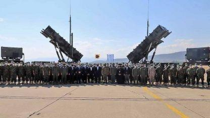 Yunanistan, törenle Suudi Arabistan'a PATRIOT bataryası gönderdi