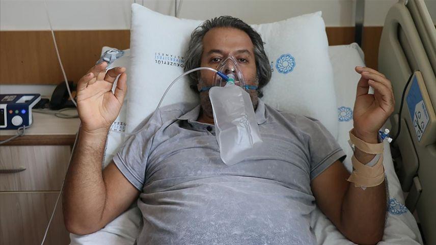 Kovid-19'a yakalanan müteahhit aşı olmamanın pişmanlığını yaşıyor
