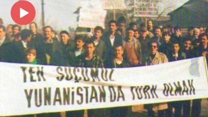 Batı Trakya Türklerinin Azınlık Statüsü tahrip ediliyor, baskılar artıyor
