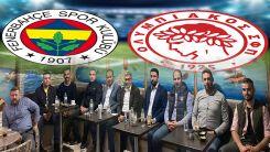 Başkonsolos Ömeroğlu, Fenerbahçe – Olympiakos maçını Domruköy'de izledi