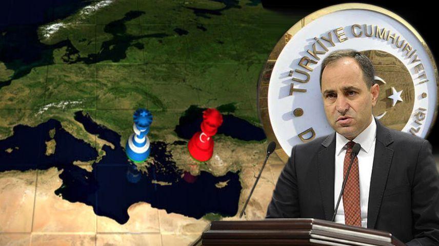 """Türkiye Dışişleri Bakanlığı'ndan Yunanistan'a sert tepki: """"Boş bir hayal"""""""