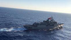 Türkiye'den kıta sahanlığını izinsiz ihlal eden araştırma gemisine müdahale