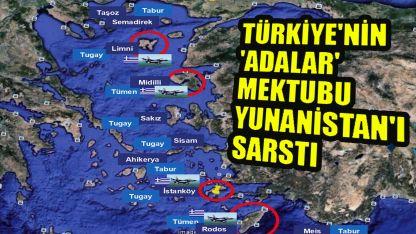 Türkiye'nin 'adalar' mektubu Yunanistan'da paniğe neden oldu