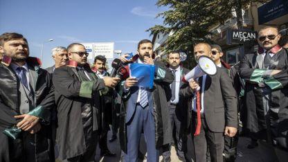 Avukatlar, Yunanistan'ın Batı Trakya Türklerine karşı ihlallerini protesto etti