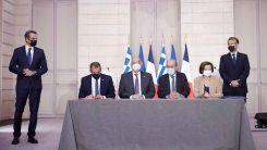 Yunanistan, Türkiye'ye karşı sırtını 'nükleer güç' sahibi Fransa'ya dayıyor