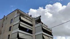 Yunanistan'da onlarca ev ve işyeri sular altında kaldı