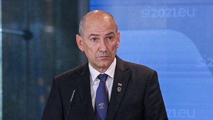 Slovenya Başbakanı Jansa'nın Twitter mesajına tepkiler sürüyor