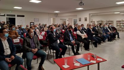 İskeçe Kültür Merkezi'nde Merhum Müftü AGA'yı anma programı