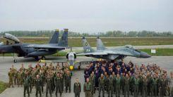 ABD'nin F-15 uçakları, tatbikat için Bulgaristan'da