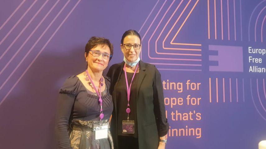 DEB Partisi EFA Genel Kurulu'na katıldı