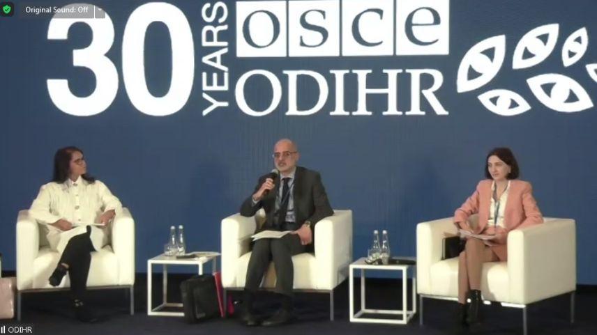 Η Τουρκική Αντιπροσωπεία Δυτικής Θράκης συμμετείχε στο συνέδριο του ΟΑΣΕ