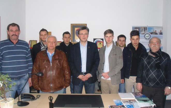 Kelsterbach Batı Trakya Türkleri Yardımlaşma ve Dayanışma Derneği ABTTF'yi ziyaret etti