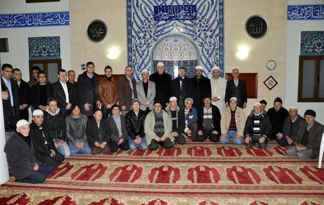 Başkonsolos ve müftülerimiz sabah namazında Arabacıköy halkıyla buluştu