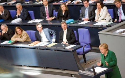 Alman Meclisinde Yunanistan kavgası