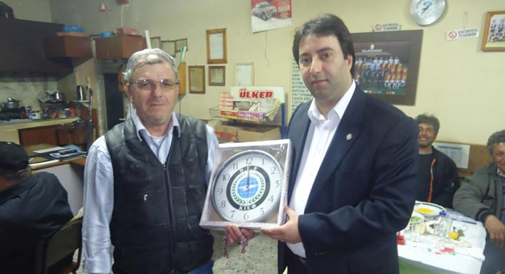 DEB Partisi'nden İskeçe'nin Ova Köylerine Ziyaret