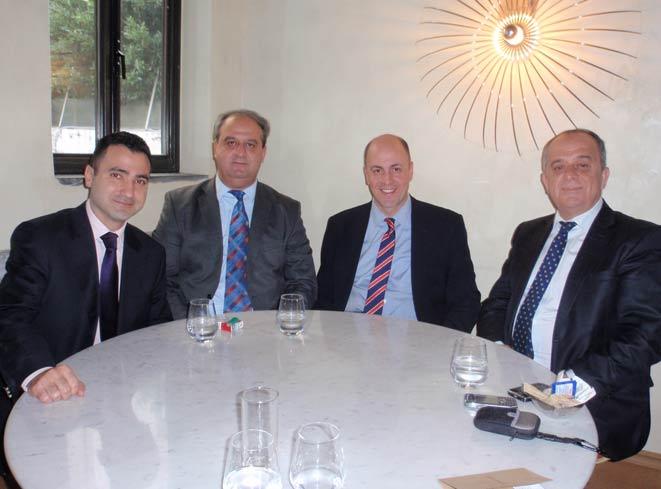 Milletvekillerimiz  Batı Trakya ziyareti öncesi Büyükelçi Kerim Uras ile yemekte buluştu