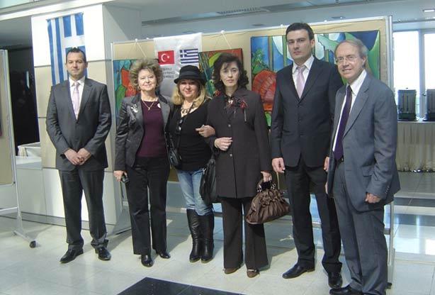BTAYTD, TOBB Üniversitesi Güzel Sanatlar Galerisi'nde düzenlenen sergiye katıldı