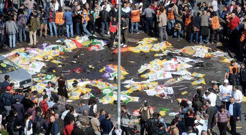 Anavatanın Başkenti Ankara'daki Katliama Batı Trakya Türkleri Sessiz Kalmıyor